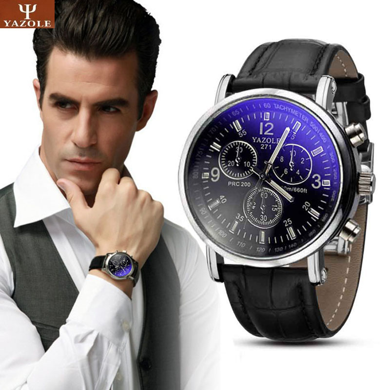 Fashion Faux Leather Mens Analog Quarts Watch Blue Ray Men Wrist Watches 2017 Mens Watches Top Brand Luxury Casual Watch Man fashion faux leather mens analog quarts watch blue ray men wrist watches 2017 mens watches top brand luxury casual watch man