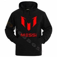 リオネル · メッシサッカーパーカーユニセックス大人アルゼンチンバルセロナパーカーユース