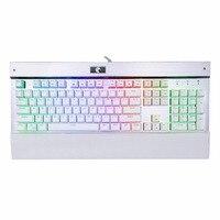 Eagle Z77 RGB LED Backlit Mechanical Keyboard With 104 Keys Anti Ghosting Outemu Blue Switches English