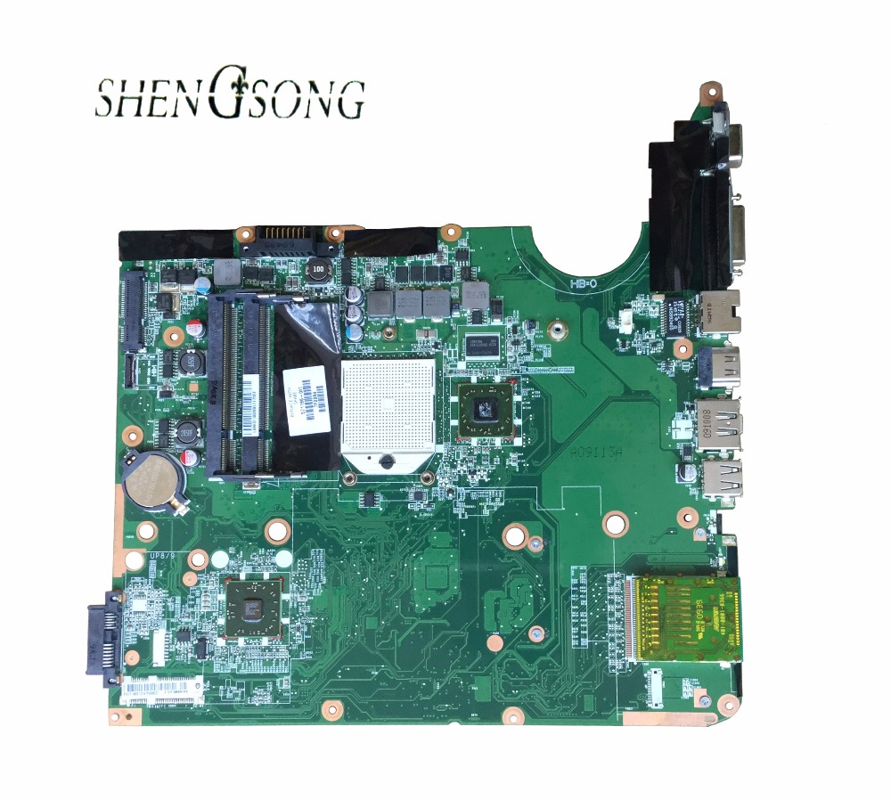571186-001 Free Shipping Laptop motherboard for HP PAVILION DV6-2000 DV6 Motherboard integrated 216-0752001 DDR2 lead free 100% new 216 0752001 216 0752001 bga chipset