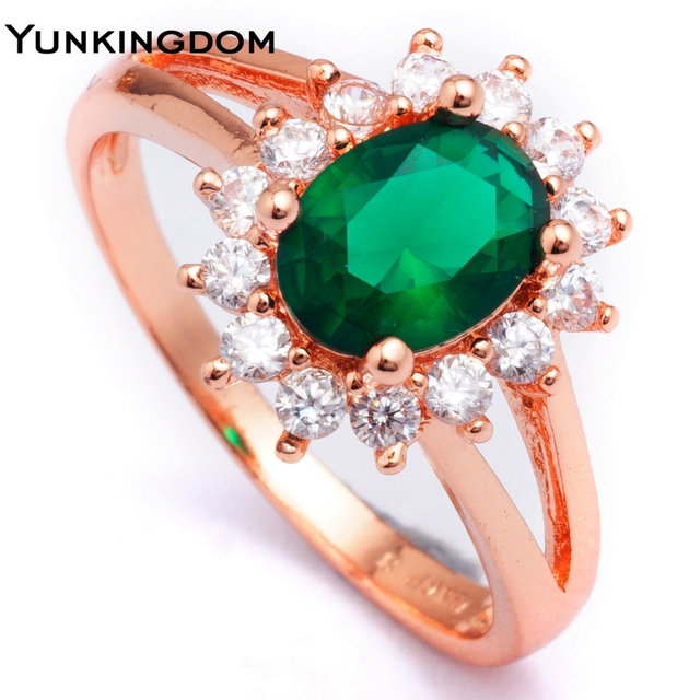 Aliexpresscom Buy Yunkingdom Russia Womens 18k Rose Gold Plated