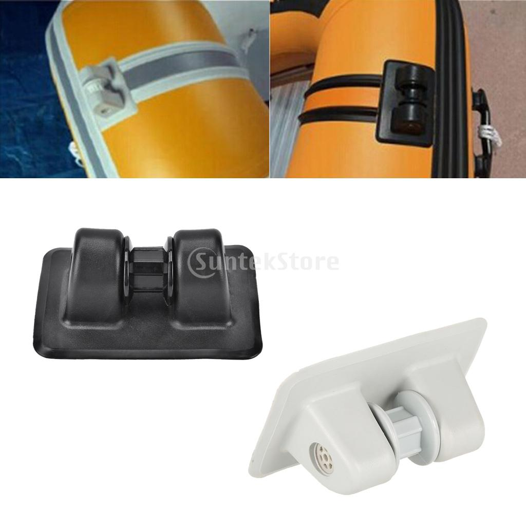 Durable PVC Anchor Tie Off Patch Anchor Holder Wheel Row Roller For Inflatable Boats Boating Rowing Boat Kayak Accessories
