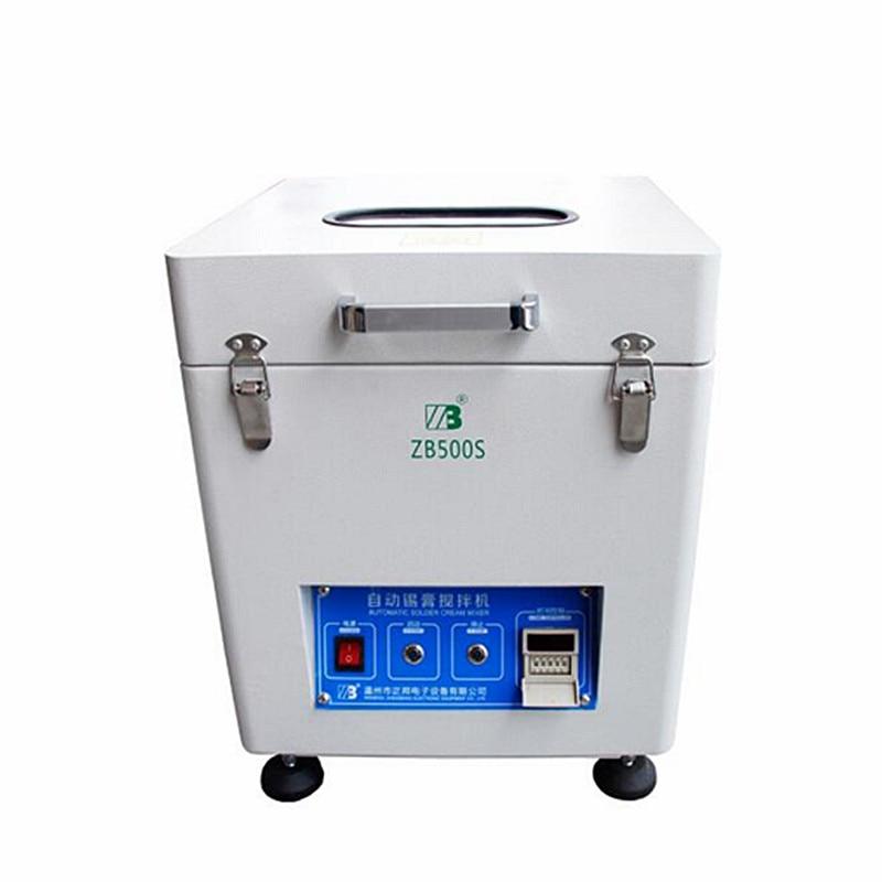Tin Crème Mélangeur Automatique à souder SMT équipement mélangeur de pâte à souder 500g pour PCB assemblée