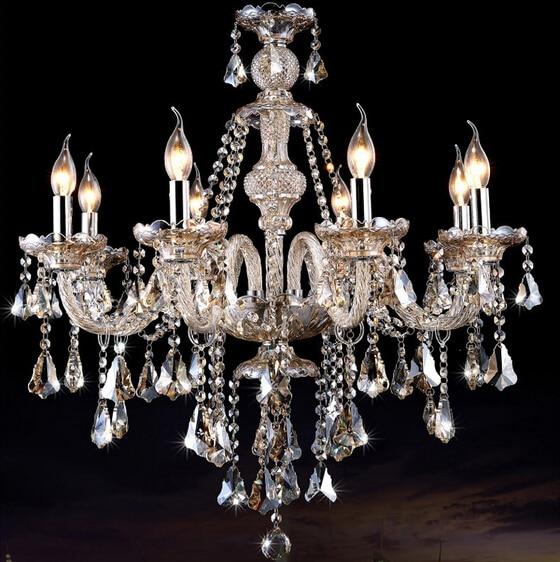 New Luxury led kristallleuchter K9 große kristallleuchter - Innenbeleuchtung - Foto 3