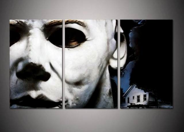 Online Shop Print Framed Michael Myers Halloween Picture Post Modern
