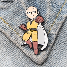Homegaga ONE PUNCH MAN Pins for men women para Shirt Charm Coat insignia Clothes backpack Accessory Badges Brooches D2073
