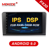 Mekede android 9.0 px30 car gps radio player for Mercedes Benz ML CLASS W164 ML350 ML500 Car multimedia with IPS SCREEN DSP