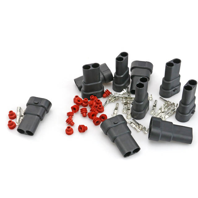 Placeholder 10pcs 9005 HB3 Car Bulb Connector Male Plug Socket 9006 HB4 H10 Halogen Light HID Xenon