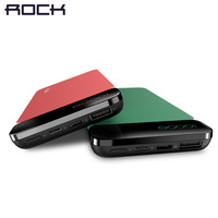 Power Bank For Xiaomi Mi ROCK Power Bank Ultra Slim 10000mAh Powerbank For IPhone 4 5