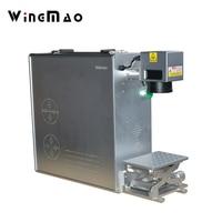 Mini Portable Optical Fiber Laser Marking For Permanent Marking 20w Fiber Laser