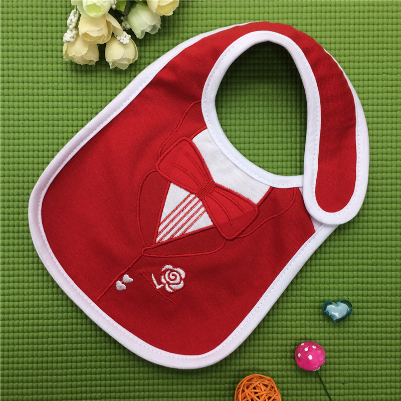 Reusable Washable Cotton Baby Bibs Burp Cloth Print Triangle Baby Bibs Cotton Adjustable Baby Meal Bib Infant Bib DS19