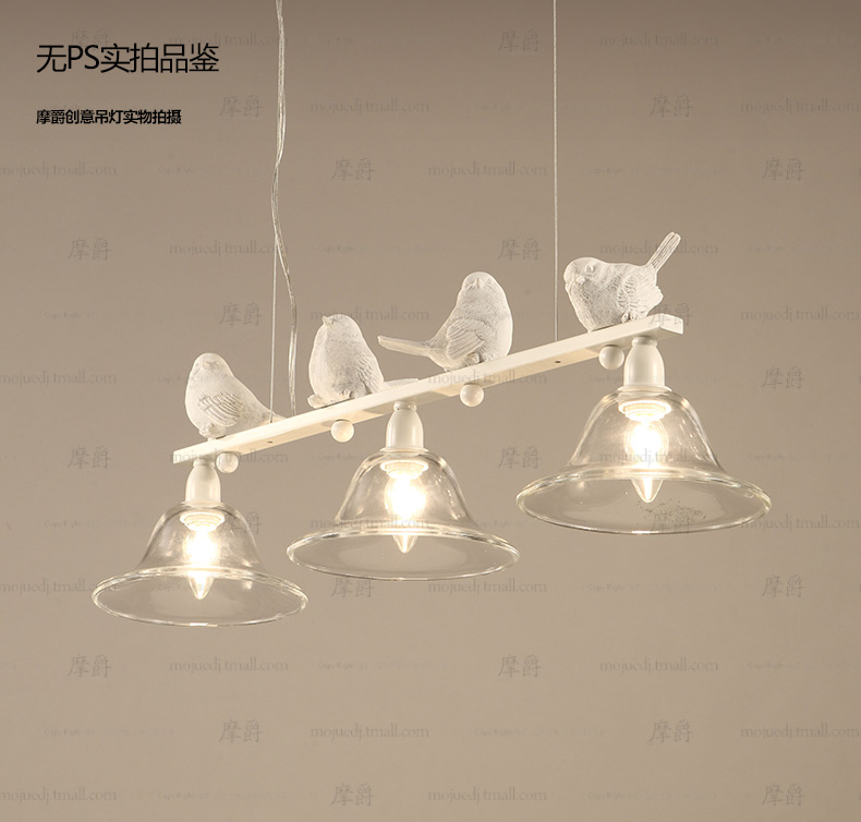 nordic modern LED iron bird Pendant light lamp Simplebar glass lampshade dining room bedroom hanging lighting iwhd led pendant light modern creative glass bedroom hanging lamp dining room suspension luminaire home lighting fixtures lustre