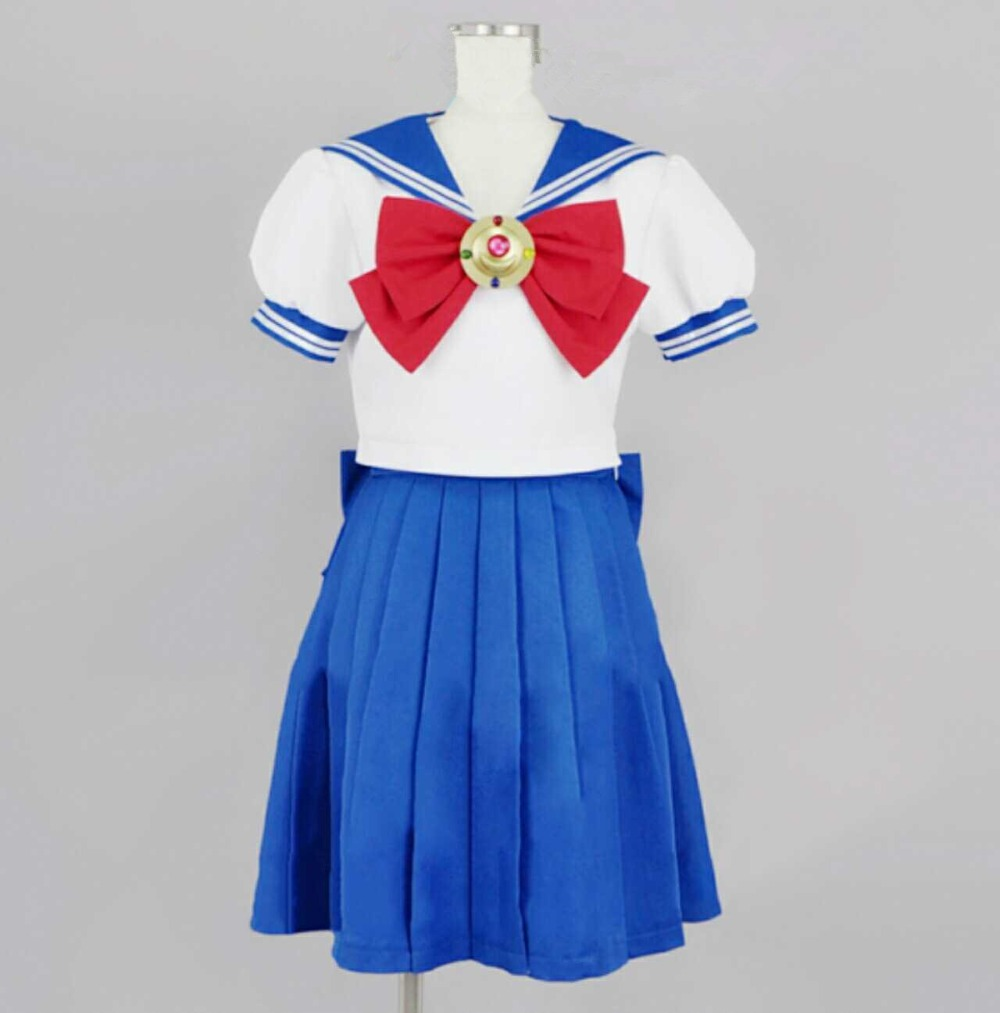 Hot Anime Sailor Moon Cosplay Sailor Moon Cos Halloween Man Woman Cosplay Costume Japanese Summer School
