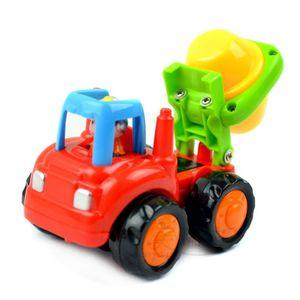Image 5 - Vehículos de construcción para niños de 2 a 3 años, juguetes gruesos de dibujos animados para tirar hacia atrás, regalo para niños pequeños, MAR 20