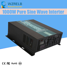 цена на Reliable Pure Sine Wave Inverter UPS and charging function 1000W outdoor home frequency inverter with charger
