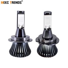 2 Pcs Strobo H8 H11 H1 H3 H7 LED HB4 9006 HB3 9005 Lampu Kabut Lampu Flash LED COB Mengemudi hari Berjalan Lampu Kabut Auto LED Light 12 V(China)
