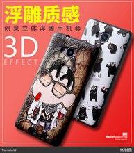 Fundas huawei gr5 case обложка 3d мультфильм живопись мягкие силиконовые тпу обложка case huawei gr5 телефон сумка обложка case (5.5 дюймов)