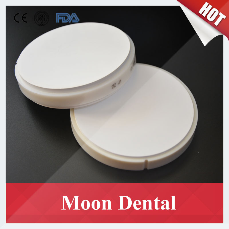 1 Piece OD98*25mm Dental Zirconia Ceramic Blocks with Plastic Hoop Outside for CAD CAM Miling Machine HT ST Dental Lab Material 100x20mm dentmill dental zirconia cad cam bloc for coping