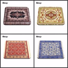 Best Rubber Rectangle Notebook Computer Mouse Mats Persian Carpet Styles Best Soft Gaming Mouse Games Black