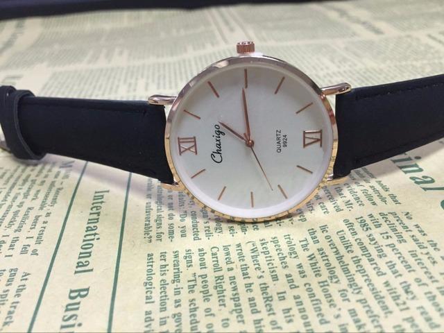 CHAXIGO Ms Simple Elegant Brand Quartz Watch High Quality Top Fashion Casual Lady Watches Women Beautiful Wristwatch