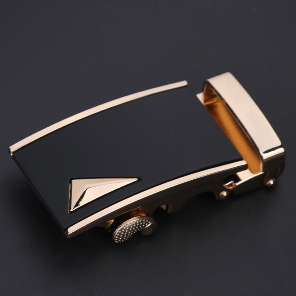 1 Pcs Fashion Alloy Belt Buckle Business Men's Belt Head Automatic Buckle Belt Buckle Men's Belt Gift