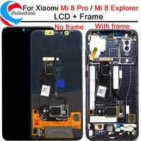 6,21 ''для Xiaomi mi 8 Pro ЖК дисплей с сенсорным экраном дигитайзер с рамкой в сборе Замена + инструменты для mi 8 Explorer