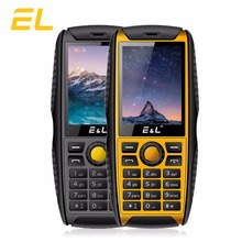 E&L S200 Cellular Telephone IP68 FM Radio Rugged Keyboard Telephone 2G GSM Twin Sim Telephones Loud Speaker Waterproof Shockproof Cell Telephones