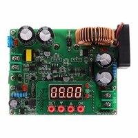 DC-DC step down regulador de tensão 10 v-75 v 60v 24v a 0-60v 12v 5v 12a controle digital volt redutor placa com display led