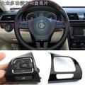 Multifunction Steering Wheel Button Frame Trim Strips For VW Passat B6 Jetta MK5 Golf MK6 Sharon
