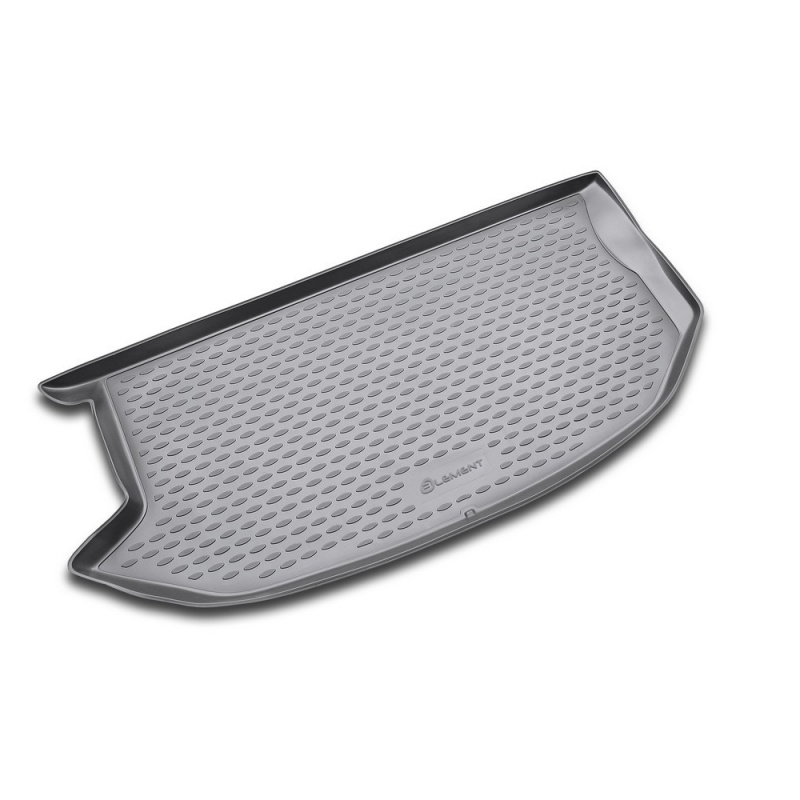 Mat trunk For KIA Soul 2008->, cross. (polyurethane) special modified car trunk cover material curtain separated block for kia soul