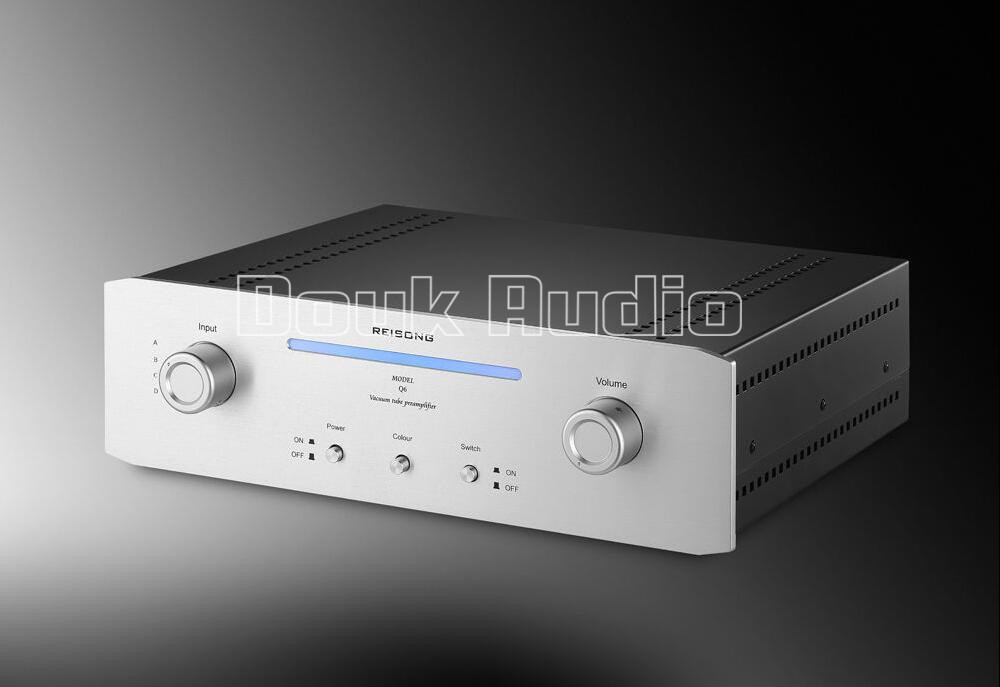 2017 Lastest Music Hall Hi-Fi 12AX7 Vacuum Tube Preamplifier Stereo High-End Audio Preamp Valve Pre-Amp 1pcs high quality 6n3 6z4 tube valve pre amp class a audio stereo preamplifier include transformer g2 007