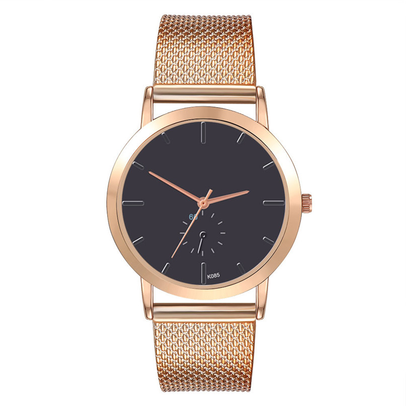 Fashion Watch Women Watches Stainless Steel Unique Simple Watches Casual Quartz Wristwatches Clock Hot Sale zegarek damski 4FN halei lovers watches crystal inlaid full steel quartz watch women men simple casual wristwatches silver clock calendar relojes