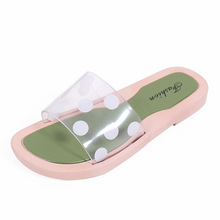 Women Slippers Flip Flops Summer Women Transparent Beach Slides Sandals Casual Shoes Slip On Slipper цена