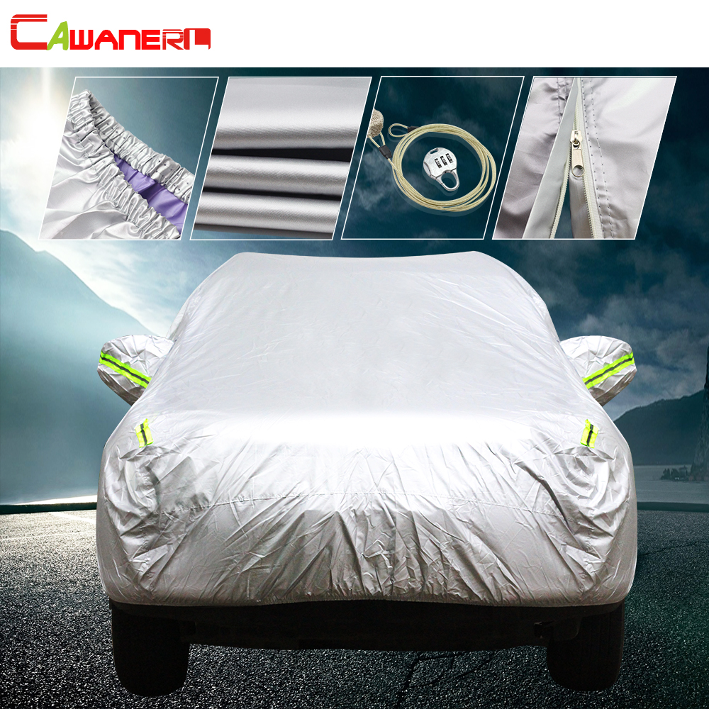 Cawanerl For Mercedes Benz A B C E S R CL CLS CLK G GLA GLK GLE GL ML Class Car Cover Waterproof Sun Rain Snow Protection Covers
