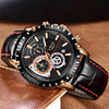 Waterproof Watch Date Chronograph Quartz-Watch Male  2