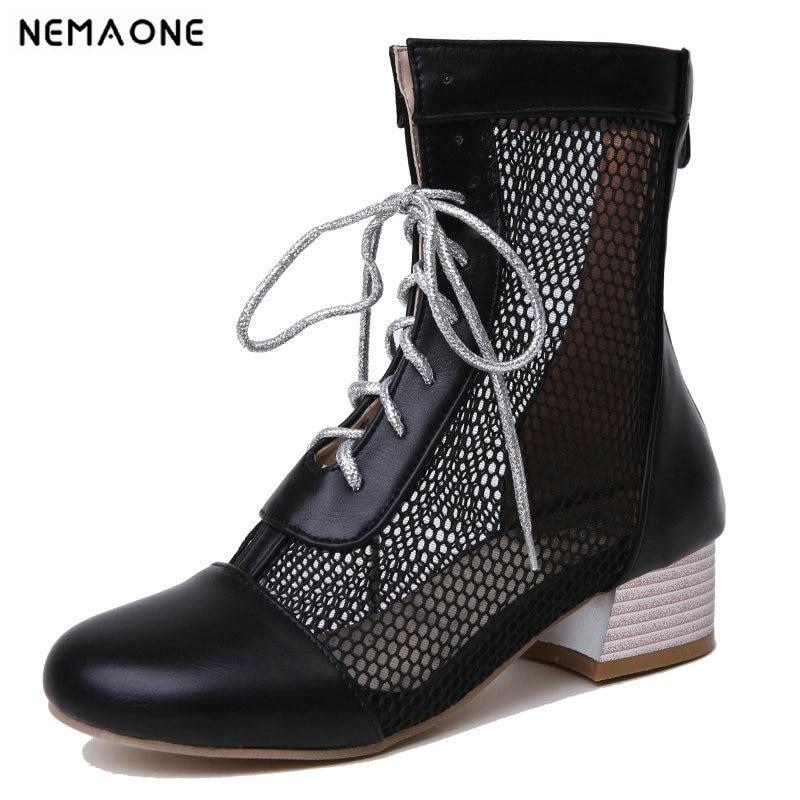 df94e3edc93215 Cm Casual Érogène Chaussures Haute Zipper 6 De blanc Bottes Talon 2019 Noir  argent Automne Parti Femmes Mode Printemps Cheville SnvqRRF6wx