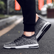 Hot Sell Running Shoes For Men Shoes Flying Weaving Socks Sneakers Wild Wear Max Air Running Shoes Non-slip Sneakers Shoes Men running wild running wild rapid foray