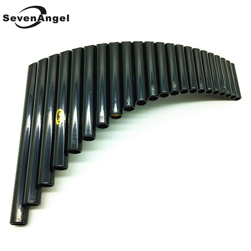 UU PanFlute 22 Pipes ABS Wind Instrument Panpipe G Key Flauta Handmade Panflute Flauta Folk Musical Instruments 22 Pipe Panflute