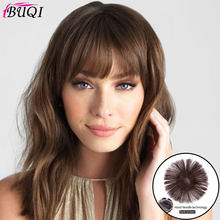 BUQI Seamless Invisibility Comfortable of True Hair Top Cover Brown and Black Color Brazilian Remy Hair for Black Women(China)