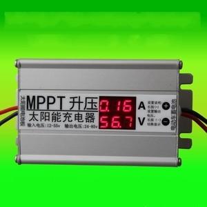 Image 1 - MPPT Solar Panel cells Charger Controller booster Adjustable 24V 36V 48V 60V 72V Battery charging voltage Regulator