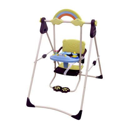 Children's swing folding baby toys swing child rocking chair swing between indoor and outdoor children's swing chair