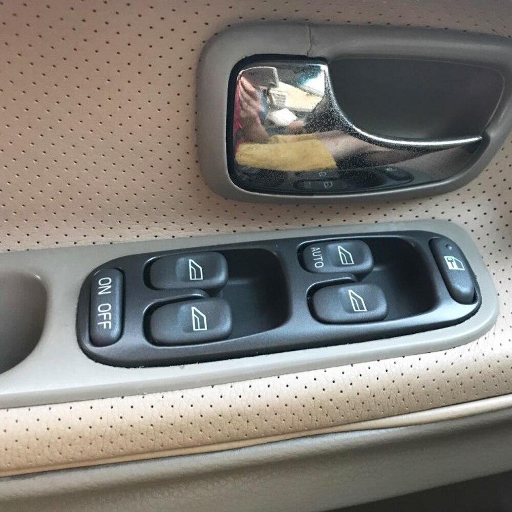 Para Volvo S70 V70 XC70 1998-2000 Frente de Esquerda Controle Elétrico Da Janela Interruptor Principal 8638452
