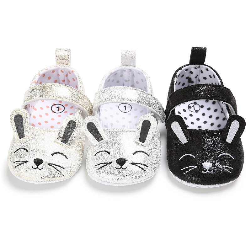 2017 Super Cute Cat Toddler Newborn Infant Baby Girl Shoes Anti-Slip Soft Sole Kitten  Shoes Prewalker