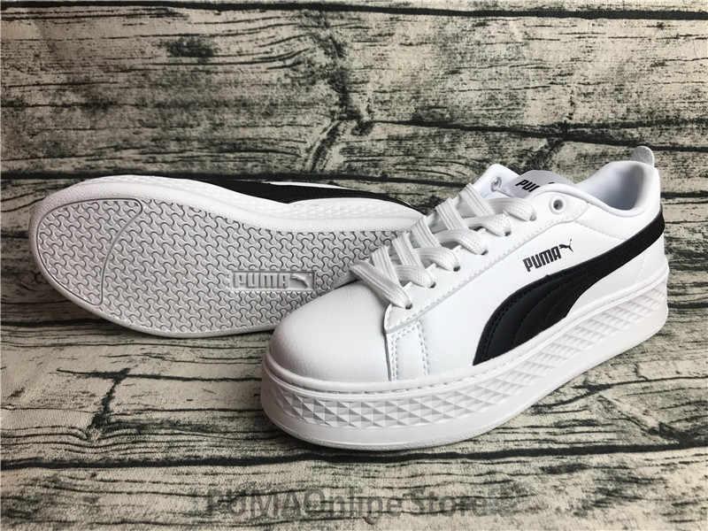 8d89b0792 2018 Original PUMA Smash Platform SD Women's Trace Leather / Suede Blocks  Sneakers Size EUR35.