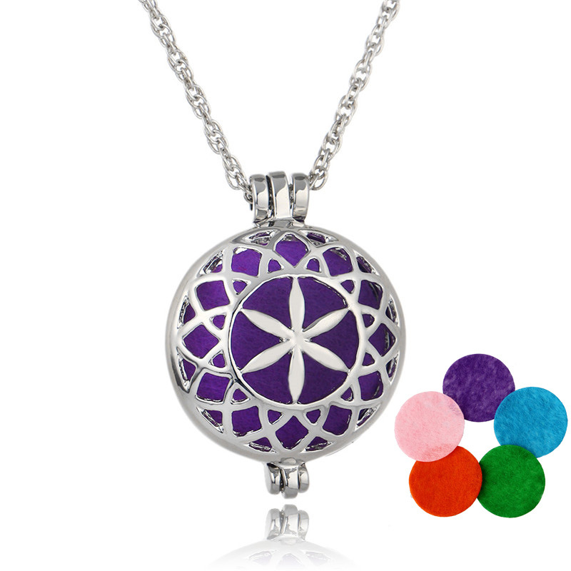 HOMOD Newest Aromatherapy Lockets Essential Oil Diffuser Necs