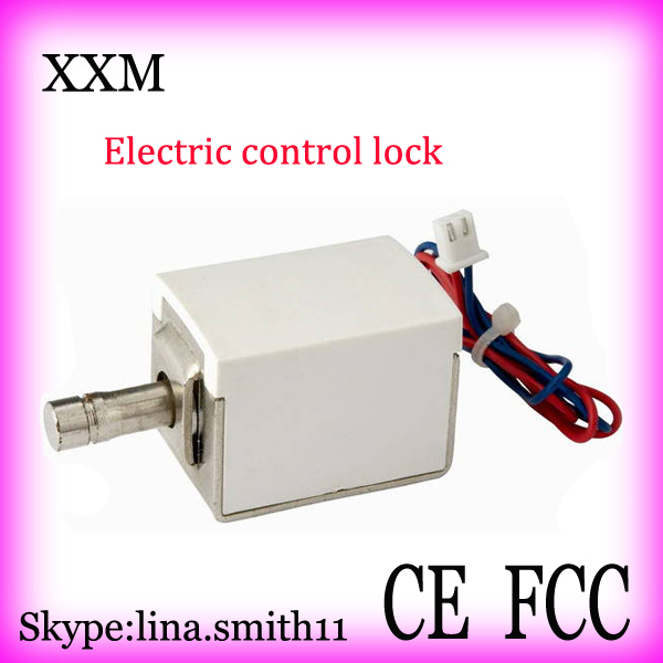 xg 03 dc12v 24v small electric bolt lock electromagnetic lock drawer electronic locks Electric Bolt Lock for Small Cabinet / Drawer -Easy to instal and low noise