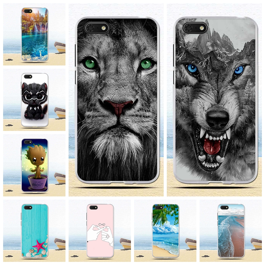Soft TPU Cover For <font><b>Huawei</b></font> <font><b>Y5</b></font> 2018/<font><b>Y5</b></font> Prime 2018/Honor Play 7/Honor 7s Case Animal Patterned for Y5Prime/Honor7s case Fundas <font><b>capa</b></font> image