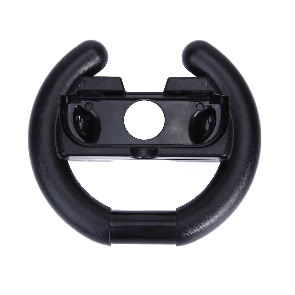 Black Steering Wheel Grip Handles Controller Game Grip Bracket for Car Races Video Games For Nintendo Switch Gampad Joycon