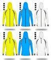 Verão ao ar livre roupas de proteção solar UV radiação terno masculino longo-manga comprida T-shirt-secagem Rápida malha respirável