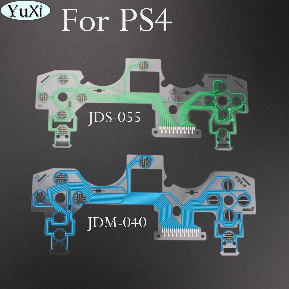 PS4 ため JDM 050 JDS-040 リボン回路ボードジョイスティックフレックスケーブル導電性フィルムプレイステーション 4 プロ JDS 055 コントローラ